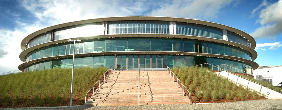 Außenansicht Kleine EWE Arena