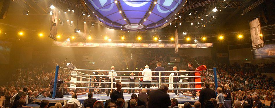 Boxveranstaltung in der Kleinen EWE-Arena