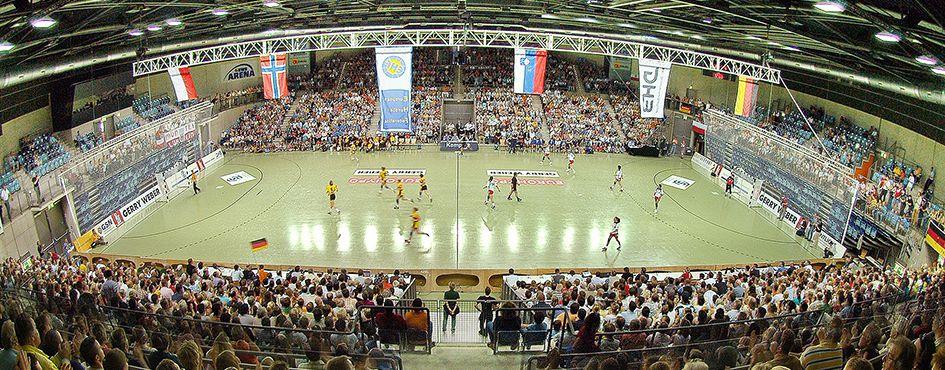 Handballspiel in der Kleinen EWE-Arena